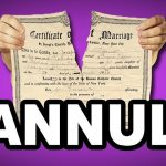 What Does Annulment Of A Marriage Mean